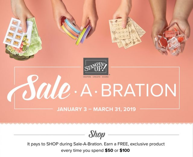 Shop Stampin' Up! Sale-A-Bration