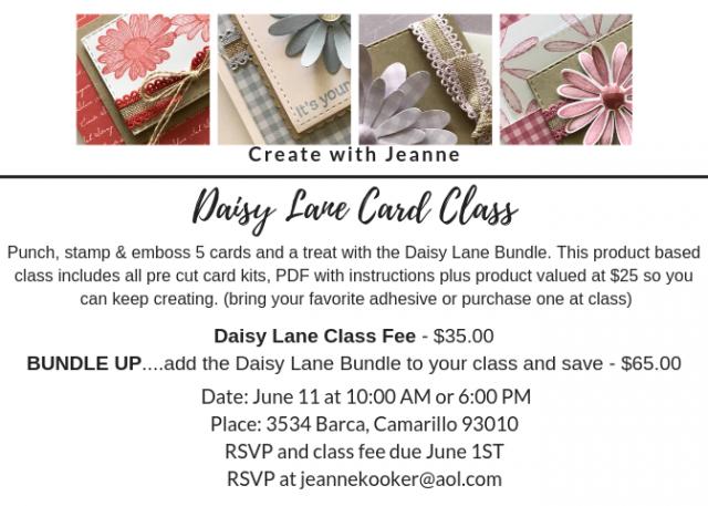 Daisy Lane Bundle & New 2019-2021 InColors