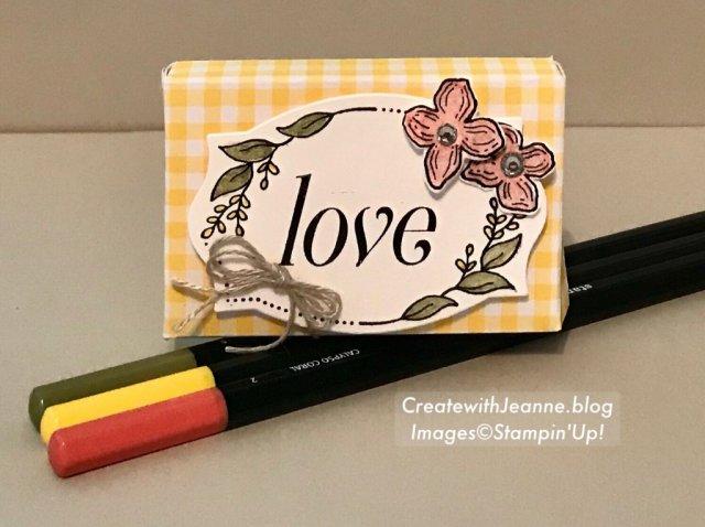 Floral frames bundle is not just for cards!