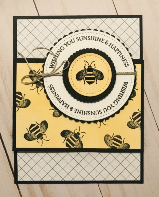 Honey Bee Stamp Set